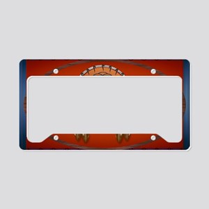 Wall Peel Horse n Arrows Oval License Plate Holder
