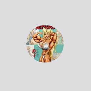 tko_tshirt_art_01 Mini Button