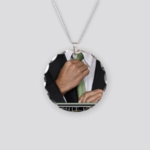 16x20_suitup_h Necklace Circle Charm