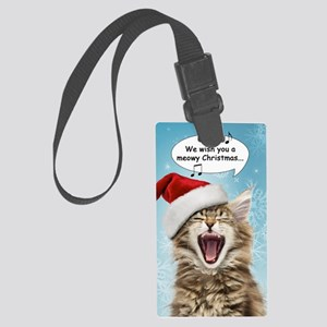 sing_greet Large Luggage Tag