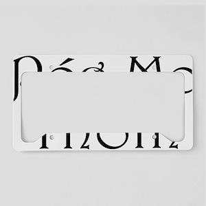 poglicense License Plate Holder