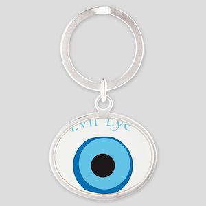 eyeDrk Oval Keychain