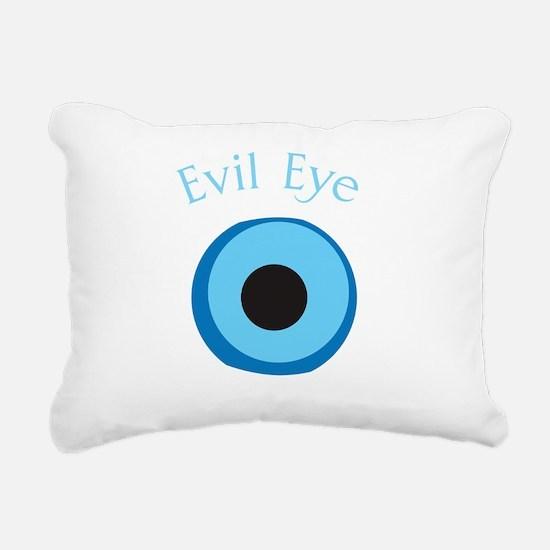 eyeDrk Rectangular Canvas Pillow