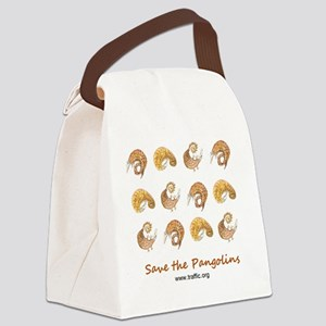 pangolin design 16May11 Canvas Lunch Bag