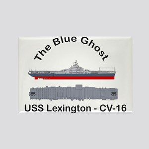Essex-Lex-T-Shirt_Front_Straight Rectangle Magnet