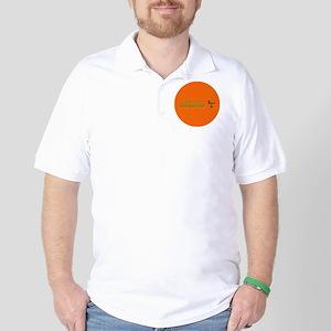 waiting tables button Golf Shirt