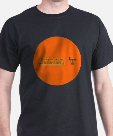 waiting tables button T-Shirt