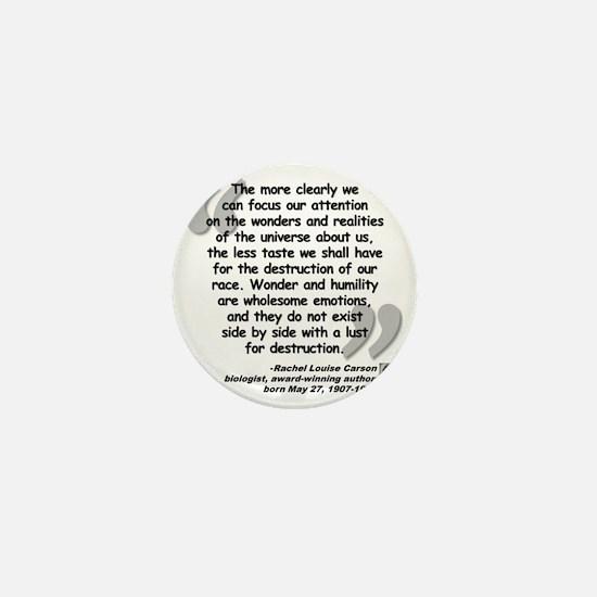 Carson Universe Quote Mini Button