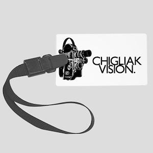 ChigliakVisionRestored-Horiz-Tru Large Luggage Tag