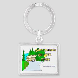 donttailgate Landscape Keychain
