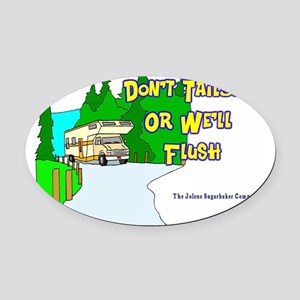 donttailgate Oval Car Magnet