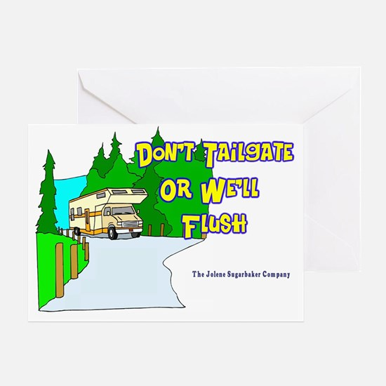 donttailgate Greeting Card
