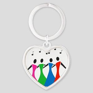 singingaloud Heart Keychain
