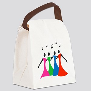 singingaloud Canvas Lunch Bag