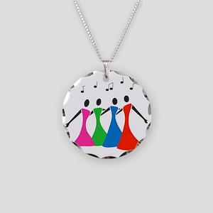 singingaloud Necklace Circle Charm