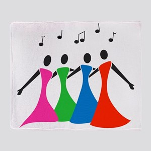 singingaloud Throw Blanket