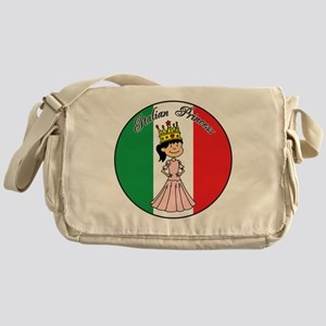 Italian Princess Shirt Messenger Bag