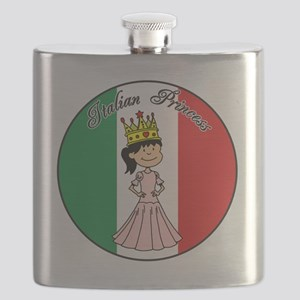 Italian Princess Shirt Flask