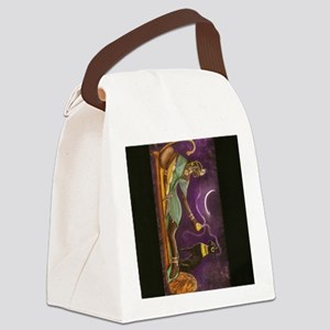 bast 001  vertical  9 X 11 Canvas Lunch Bag