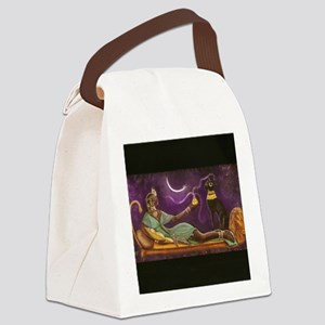 bast 001  horz 10 wide  horizonta Canvas Lunch Bag