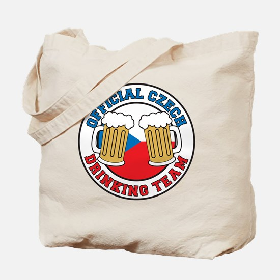 Official Czech Drinking Team Tote Bag