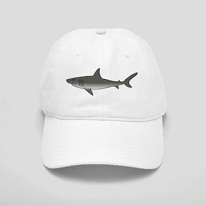 Gray Shark Cap