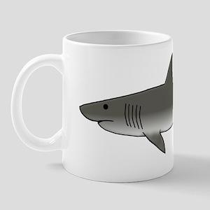 Gray Shark Mug