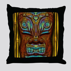 BlueWoodTjki Throw Pillow