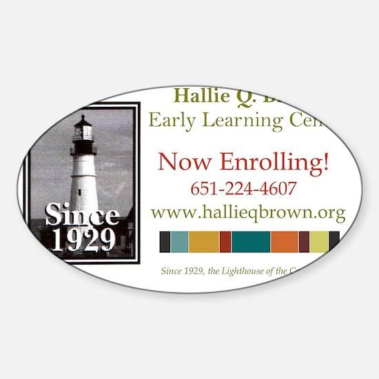 ELC Banner Sticker (Oval)