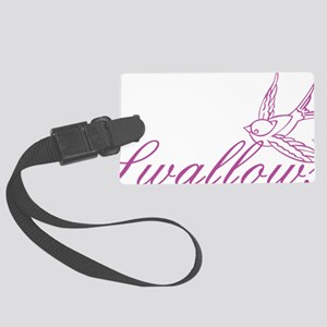 swallows1 Large Luggage Tag