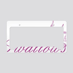 swallows1 License Plate Holder