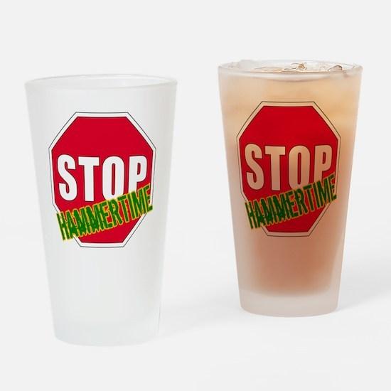 hammertime Drinking Glass