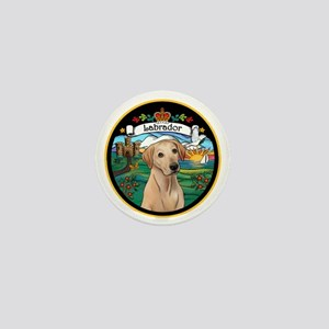 J-ORN-Coat-Arms-Yellow Lab Mini Button