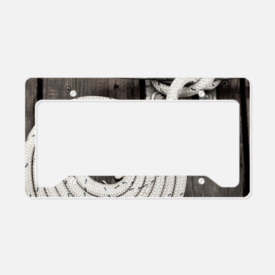 boat knot License Plate Holder
