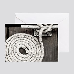 boat knot Greeting Card