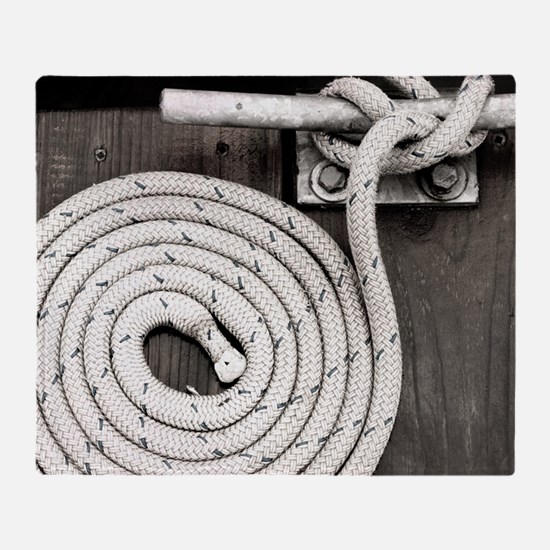 boat knot Throw Blanket
