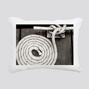 boat knot Rectangular Canvas Pillow