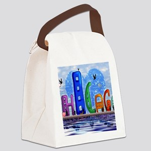 I heart Chicago Canvas Lunch Bag