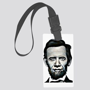 obamalincoln Large Luggage Tag