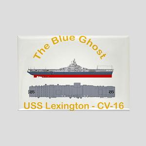 Essex-Lex-T-Shirt_Front_Dk_Straig Rectangle Magnet