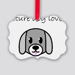 future dog lover Picture Ornament