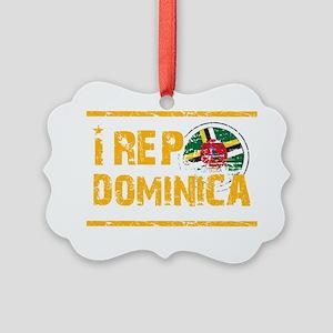 dominica1 Picture Ornament