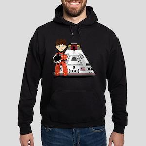 Spaceman Pad3 Hoodie (dark)