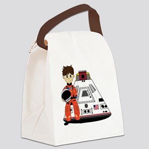 Spaceman Pad3 Canvas Lunch Bag