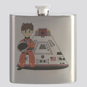 Spaceman Pad3 Flask