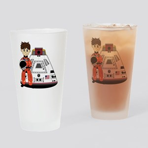 Spaceman Pad3 Drinking Glass