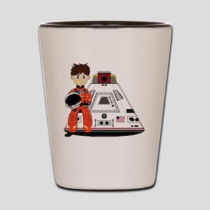 Spaceman Pad3 Shot Glass