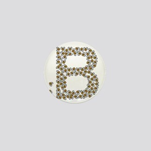 B (made of bees) Mini Button