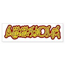 A$$hole Bumper Sticker