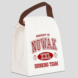 Nowak Polish Drinking Team Canvas Lunch Bag